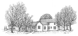 Sketch of Alameda House